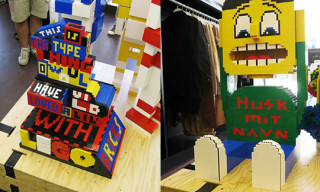 Wood Wood x Lego Brickism Exhibition Opening