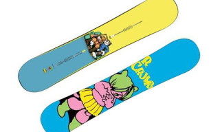 "Burton x R. Crumb ""Fritz The Cat"" Twin V Rocker Snowboard"
