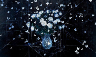 """Damien Hirst """"The Blue Paintings"""" at The Wallace Collection"""