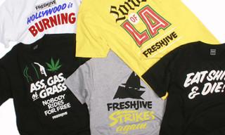 Freshjive x John Downer   Exhibition And T-Shirts
