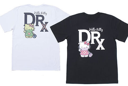 Dr romanelli x medicom x hello kitty t shirts highsnobiety for Hello kitty t shirt design