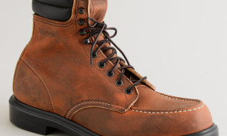 J. Crew x Red Wing Vintage Leather Work Boots