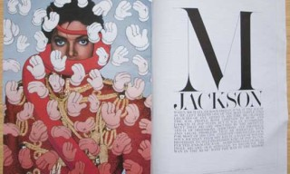 Kaws x Michael Jackson for Interview Magazine