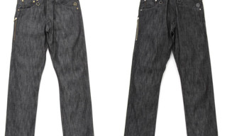 Levi's Fenom Silver/Gold Metallic Disco Denim