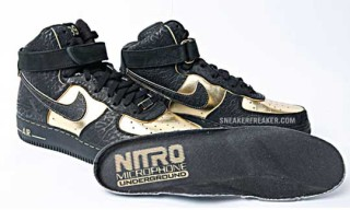 Nitro Microphone Underground x Nike Air Force 1 Supreme