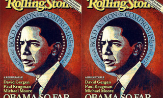 Rolling Stone Magazine Obama Cover by Shepard Fairey