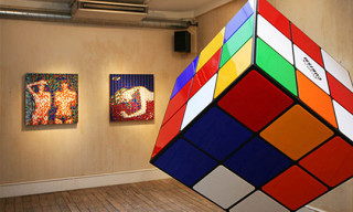 "Space Invader ""Low Fidelity"" Exhibition London"