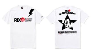 Stussy x REC 1st Anniversary T-Shirt