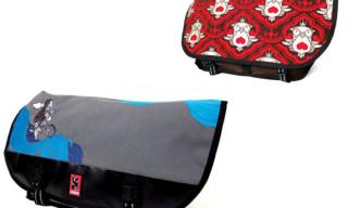 Upper Playground x Chrome Artist Series Messenger Bags | Sam Flores, Jeremy Fish