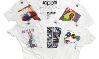 55DSL Fall/Winter 2009 10.55 Magazine T-Shirt Series | Lodown, Milk, WAD, Vapors, Spin, Nylon