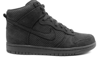 DQM x Nike Dunk High Black Hyperstrike