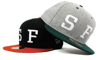 HUF SF Felt Wool New Era Cap