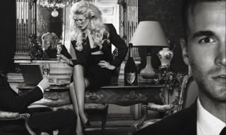Karl Lagerfeld for Dom Perignon Oenotheque Campaign