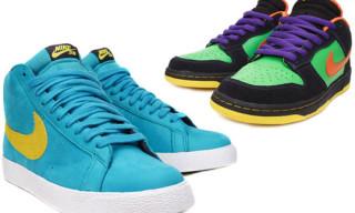 Nike SB October 2009 Releases | Blazer Hi Premium, Dunk Low Premium