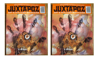 Juxtapoz October 2009 Issue Curated by Pushead