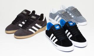 adidas Skateboarding October 2009 Releases | Busenitz, Campus, Ciero