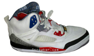 Air Jordan Spiz'ike White Cement/Fire Red | A First Look