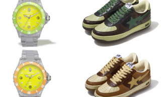 Bape Fall 2009 | Bapex Clear And Bape Sta  Wood Land