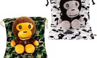 Bape x Chromse Hearts Baby Milo Plush Toys