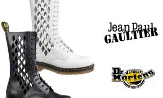 Dr. Martens x Jean-Paul Gaultier Boots