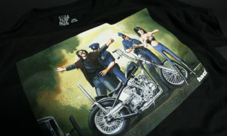 "FUCT x David Mann ""American Outlaw"" T-Shirt Series"