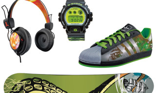 Green Label Art by Mountain Dew Volume 3 Artist Collabs | adidas, Burton, WeSC, G-Shock, Zoo York, New Era