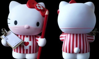"Dr. Romanelli x Hello Kitty ""Candy Striper"" by Medicom"