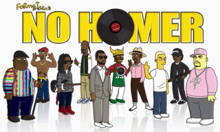No Homer – Hip Hop Icons Simpsonized