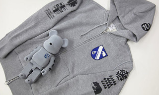 Loopwheeler x Medicom Bearbricks and Hoodies