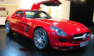 Exclusive First Live Look From IAA: Mercedes SLS AMG