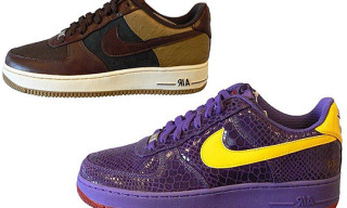 Nike Air Force 1 x DJ Clark Kent | Nike Air Force 1 x Eddie Cruz