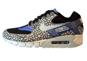 nike air max 90 current huarache dq menu