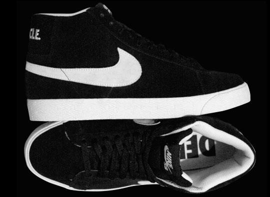 Chaquetas Nike Alta En Blanco Y Negro