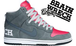 "Nike x Todd Bratrud ""Brain Wreck"" Dunk Hi SB"