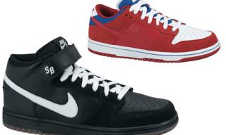 Nike SB Spring 2010 | Dunk Mid Pro SB, Dunk Low Pro SB