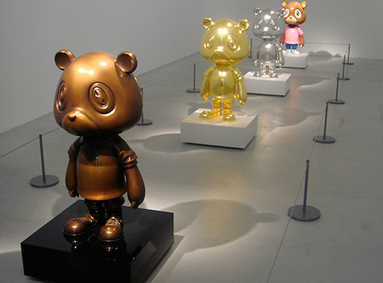 Design My Exhibition Stand : Takashi murakami paints self portraits exhibition recap