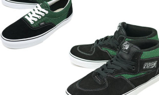Vans Fall 2009 Green Perforated Pack