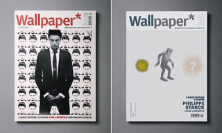Wallpaper Guest Edited by Philippe Starck and Karl Lagerfeld | The Covers