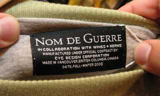 Capsule Show | Nom de Guerre x Wings + Horns Collection