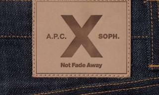A.P.C. x SOPH 10th Anniversary Petite Standard & Knit Cardigan