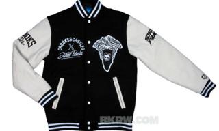 Crooks & Castles x Stereo Panda Varsity Jacket