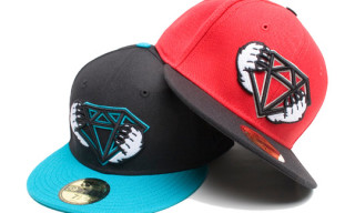 Hall of Fame x Diamond Supply Co. New Era Cap & T-Shirt