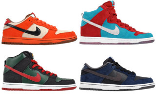Nike SB November 2009 Releases | Dunk Hi, Dunk Low