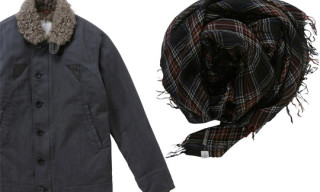Visvim F.I.L Exclusive Deckhand Jacket & Checked Stole
