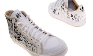 adidas Originals x Fafi Fall/Winter 2009 Footwear | Honey Mid, Stan Smith
