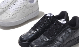 A Bathing Ape Holiday 2009 Bapesta Crocodile Style