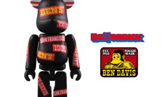 Medicom x Ben Davis Bearbrick