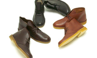 Clarks Desert Boot Leather
