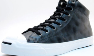 Converse Jack Purcell Waxed Leather Mid