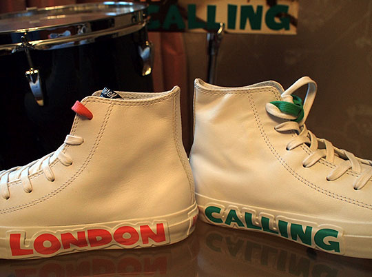 b083e597520 Converse x The Clash Spring 2010 Footwear